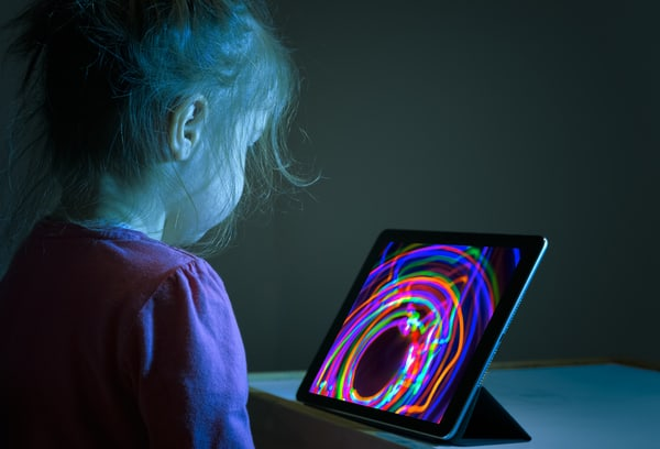 how technology is changing children