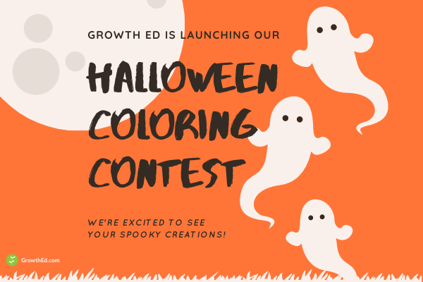 Growth Education Halloween Coloring Contest